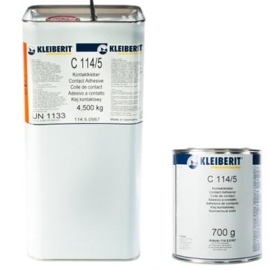 KLEIBERIT 114.5 kontaktiniai klijai - 4,5 kg 2